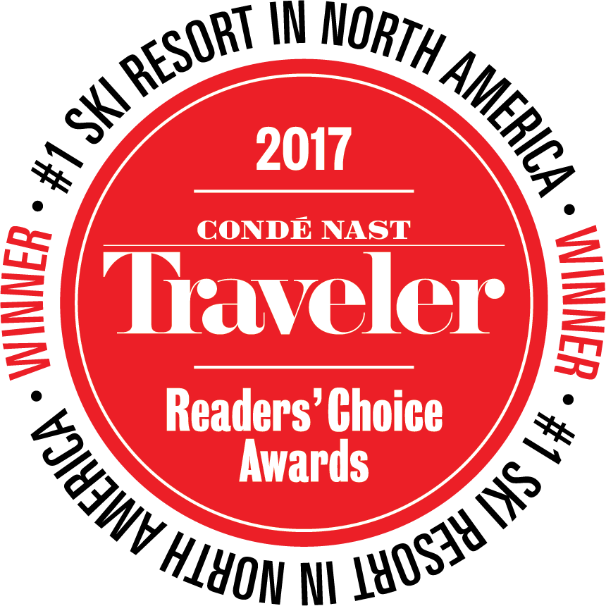 #1 Ski Resort Conde Nast Traveler